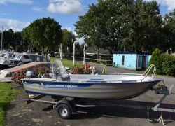 Linder Sportsman 445 Max, Open boat and rowboat Linder Sportsman 445 Max for sale by Jachtbemiddeling Heeresloot B.V.
