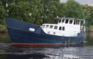 Spitsgat Kotter Bremer, Varend woonschip Spitsgat Kotter Bremer te koop bij Jachtbemiddeling Heeresloot B.V.