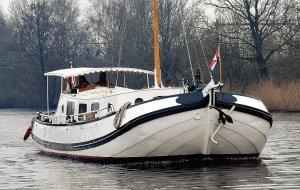 Skutsje Motor, Traditionelle Motorboot Skutsje Motor zum Verkauf bei Jachtbemiddeling Heeresloot B.V.