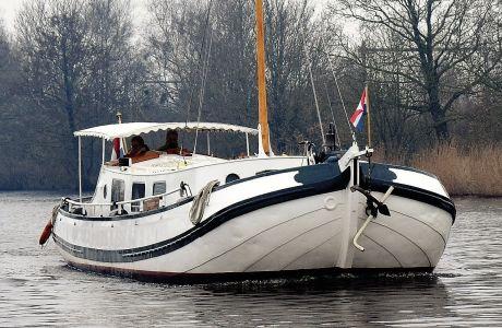 Skutsje Motor, Klassiek/traditioneel motorjacht Skutsje Motor te koop bij Jachtbemiddeling Heeresloot B.V.