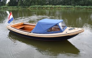 Valkvlet Spiegel Sloep, Tender Valkvlet Spiegel Sloep for sale at Jachtbemiddeling Heeresloot B.V.