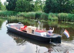 Lounge Praam Dagboot, Partyboot, Sloep  for sale by Jachtbemiddeling Heeresloot B.V.