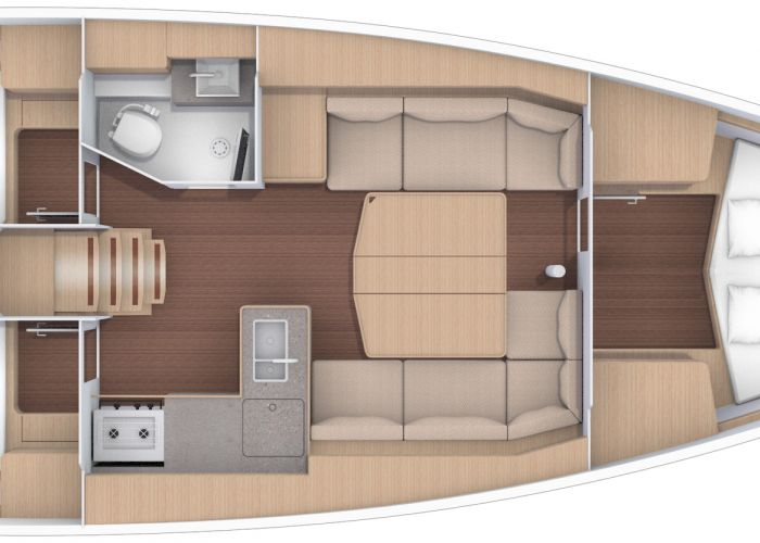 Dufour 390 GL Per Direct Leverbaar!, Zeiljacht  for sale by Sailing World Lemmer NL / Heiligenhafen (D)