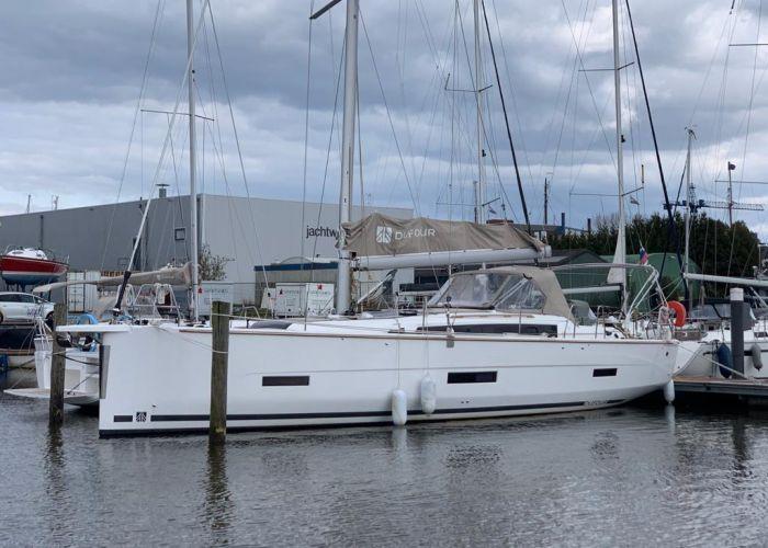 Dufour 430 Grand Large, Zeiljacht  for sale by Sailing World Lemmer NL / Heiligenhafen (D)