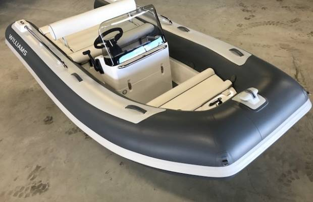 Williams 400 Sportjet, RIB en opblaasboot Williams 400 Sportjet te koop bij Delta Watersport