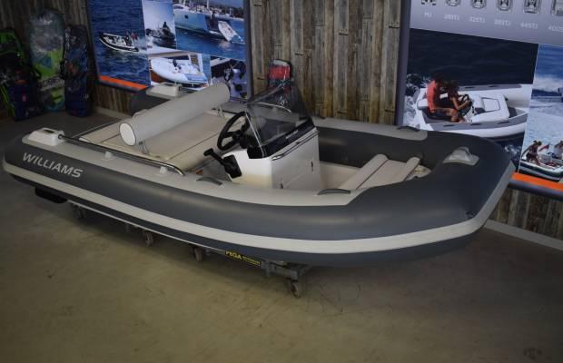 Williams 400 Sportjet, RIB en opblaasboot Williams 400 Sportjet te koop bij Delta Watersport
