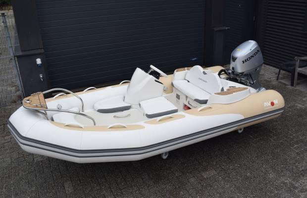 Avon Seasport 380 DeLuxe, RIB en opblaasboot Avon Seasport 380 DeLuxe te koop bij Delta Watersport