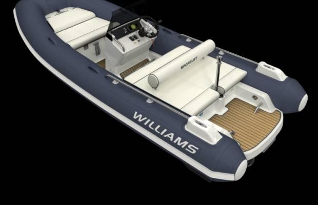 Williams 460 Sportjet, RIB en opblaasboot Williams 460 Sportjet te koop bij Delta Watersport