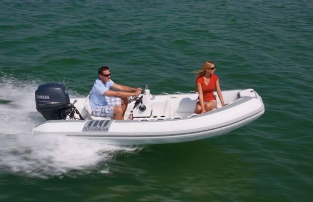 Novurania Deluxe Series 400, RIB en opblaasboot Novurania Deluxe Series 400 te koop bij Delta Watersport