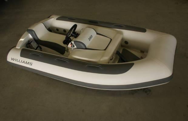 Williams Minijet 280, RIB en opblaasboot Williams Minijet 280 te koop bij Delta Watersport