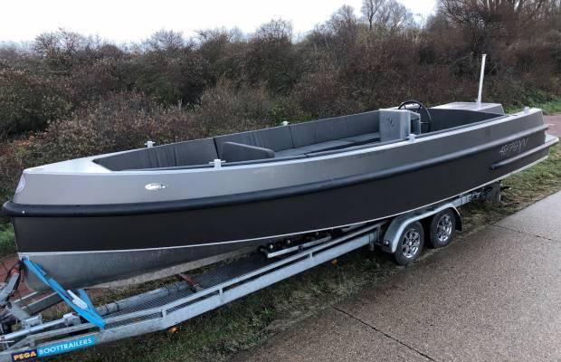 Van Vossen Tender 850 TB, Speed- en sportboten Van Vossen Tender 850 TB te koop bij Delta Watersport