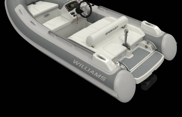 Williams 345 Sportjet, RIB en opblaasboot Williams 345 Sportjet te koop bij Delta Watersport