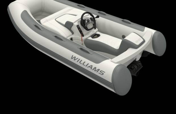 Williams 280 Minijet, RIB en opblaasboot Williams 280 Minijet te koop bij Delta Watersport