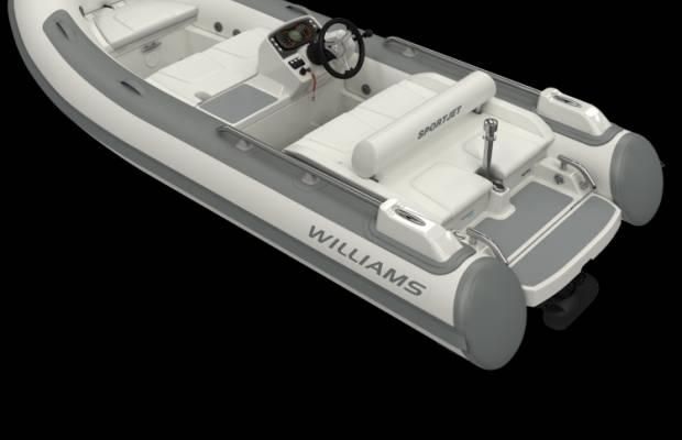 Williams 395 Sportjet, RIB en opblaasboot Williams 395 Sportjet te koop bij Delta Watersport