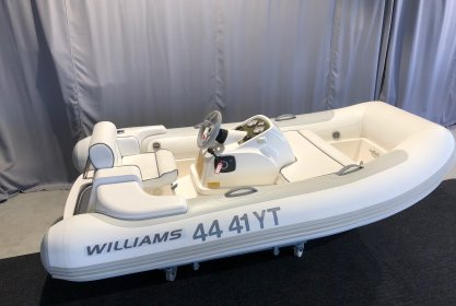 Williams Turbojet 285, RIB en opblaasboot for sale by Delta Watersport