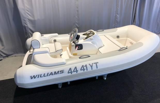 Williams Turbojet 285, RIB en opblaasboot Williams Turbojet 285 te koop bij Delta Watersport