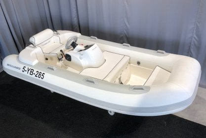 Williams Turbojet 325, RIB en opblaasboot for sale by Delta Watersport