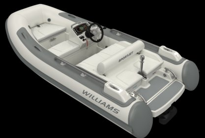 Williams 345 Sportjet, RIB en opblaasboot for sale by Delta Watersport