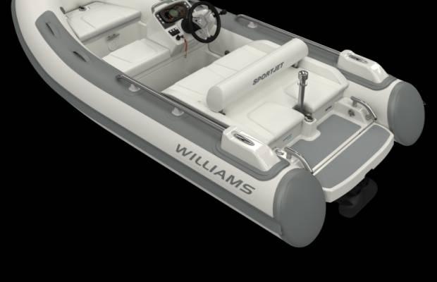 Williams 345 Sportjet, RIB en opblaasboot Williams 345 Sportjet te koop bij Delta Watersport