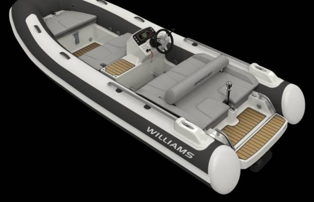 Williams 435 Sportjet, RIB en opblaasboot Williams 435 Sportjet te koop bij Delta Watersport