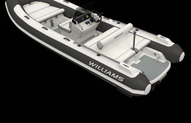 Williams 520 Sportjet, RIB en opblaasboot Williams 520 Sportjet te koop bij Delta Watersport