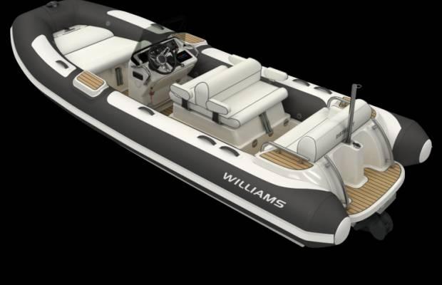 Williams 505 Dieseljet, RIB en opblaasboot Williams 505 Dieseljet te koop bij Delta Watersport