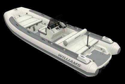 Williams 520 Sportjet, RIB en opblaasboot for sale by Delta Watersport