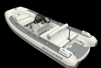 Williams 460 Sportjet, RIB en opblaasboot for sale by Delta Watersport