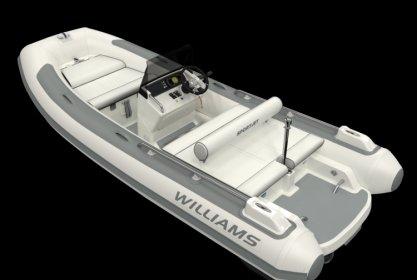 Williams 460 Sportjet, RIB en opblaasboot for sale by Delta Watersport