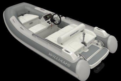 Williams 345 Sportjet, RIB en opblaasboot for sale by Delta Watersport