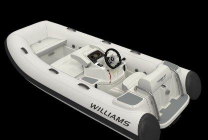 Williams 325 Turbojet, RIB en opblaasboot for sale by Delta Watersport