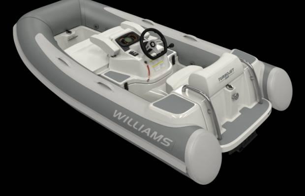 Williams 285 Turbojet, RIB en opblaasboot Williams 285 Turbojet te koop bij Delta Watersport
