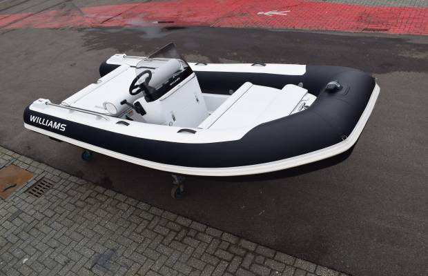 Williams Sportjet 460, RIB en opblaasboot Williams Sportjet 460 te koop bij Delta Watersport
