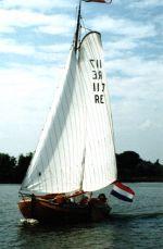Tjotter , Plat- en rondbodem, ex-beroeps zeilend Tjotter  for sale by Hollandboat