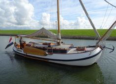 Lemsteraak 1220 Lunstroo, Flat and round bottom Lemsteraak 1220 Lunstroo for sale by Hollandboat