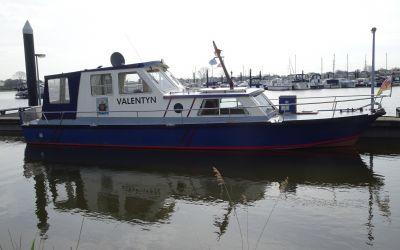 VEB werft KB12A-3, Ex-professionele motorboot for sale by EYN Jachtmakelaardij Zuidboten