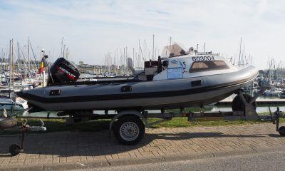 RIB S75 Met 90 PK Buitenboordmotor En Trailer, RIB en opblaasboot  for sale by VesselAuction B.V.
