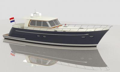 Motorjacht Casco 16,30 Meter - 2X 160PK, Motor boat - hull only  for sale by VesselAuction B.V.
