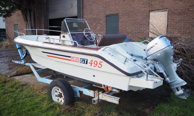 Elan GT 495 Consoleboot, Speedboat and sport cruiser  for sale by VesselAuction B.V.