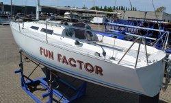 F & F Boats FF 95, Zeiljacht F & F Boats FF 95 te koop bij Serry, Jachtwerf & Jachtmakelaardij