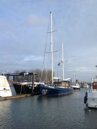 Motor Sailor Kotter, Sailing houseboat Motor Sailor Kotter for sale by Rotterdam Yacht Centre