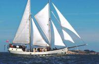 Zeilschip Schoener, Plat- en rondbodem, ex-beroeps zeilend