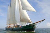 Klipper Twee Mast Klipper Charterschip, Flat and round bottom
