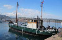 Kotter Woon-reisschip, Motorjacht