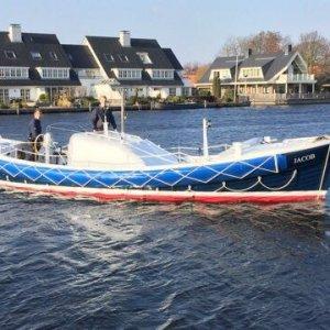 Kurt Carlson Reddingsloep KC, Ex-professionele motorboot Kurt Carlson Reddingsloep KC te koop bij Van Leest Scheepsbouw B.V.