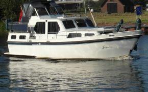 Blauwe Handkruiser 11.80, Motorjacht Blauwe Handkruiser 11.80 te koop bij Jachtmakelaardij Lodewijk Bos
