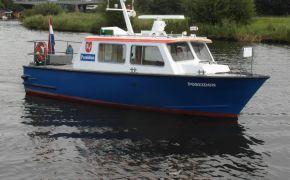 Aluminium Werkboot 10 Meter (VERKOCHT), Ex-professionele motorboot Aluminium Werkboot 10 Meter (VERKOCHT) te koop bij Jachtmakelaardij Lodewijk Bos
