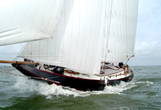 Reymerswale Hoogaars Roefuitvoering, Plat- en rondbodem, ex-beroeps zeilend  for sale by Chris Beuker Maritiem