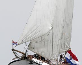 De Groote Leeuw Roefaak, Plat- en rondbodem, ex-beroeps zeilend for sale by Chris Beuker Maritiem