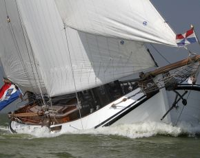 Trekvogel Lemsteraak Roefaak, Flach-und Rundboden for sale by Chris Beuker Maritiem